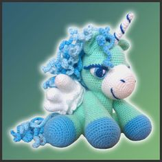 Amigurumi Pattern Crochet PDF - Peppermint, The Pegasus on Etsy, $5.20
