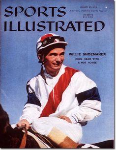 jockey bill shoemaker | BYT: Why have there been no celebrity jockeys since Willie Shoemaker ?