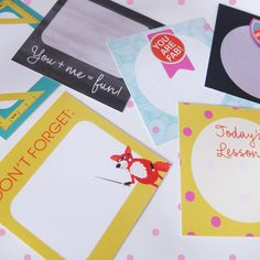 Stationery created for Boxcitement's March box
