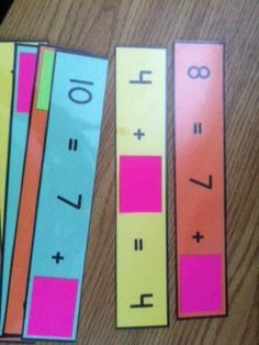 {Freebie} Great for work on missing addends!