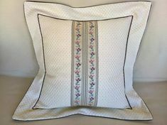Decorative elegant romantic pillow cover beige by StyleAndDeco