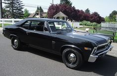 black 1969 chevy nova ss  My brother in law had one way back in the day lol! It was black too!|