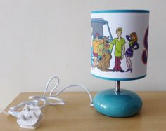 Check out our scoobydoo selection for the very best in unique or custom, handmade pieces from our shops. Best Cartoons Ever, Old Cartoons, Disney Cartoons, Scooby Doo Kids, Scooby Doo Memes, Scooby Doo Mystery Incorporated, Hanna Barbera, Bedside Lamp, My Little Girl