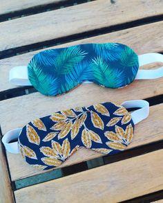 Colleen sur Instagram: Pour changer, des masques de sommeil. Utile et permet d'utiliser les chutes. J'ai utilisé le patron gratuit de @patrons_sacotin Ils…