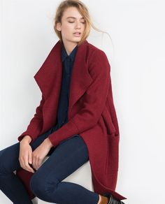 Image 4 of WOOL COAT from Zara