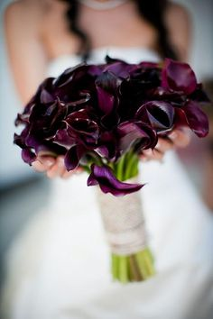 Plum wedding inspiration from Facebook