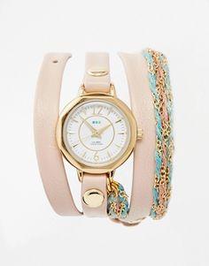 Shop the latest La Mer Sydney Wrap Watch trends with ASOS! Jewlery, Jewelry Necklaces, Layered Bracelets, Friendship Bracelets, Fashion Online, Asos, High Heels, Sydney, Watches