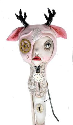 One of a Kind Pop Surrealism Art Doll Should by michelelynchart, $395.00