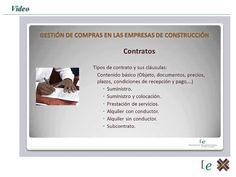 Curso de Gestión de Compras en Empresas de Construcción