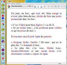 logiciel facilitant la lecture pour les enfants dyslexiques