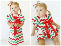 Toddler Girls Christmas Dresses // Girls by AdalynsBoutique Toddler Girl Christmas Dresses, Matching Christmas Outfits, Casual Holiday Outfits, Girls Christmas Outfits, Dresses For Tweens, Girls Christmas Dresses, Holiday Party Outfit, Kids Outfits, Santa Dress