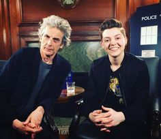 We speak to the Doctor himself, Peter Capaldi and executive producer Brian Minchin about the episode Smile, emojibots in Valencia and whether or not there is actually life on other planets!