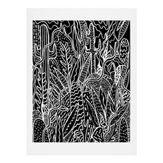 Kris Tate The Garden Art Print | DENY Designs Home Accessories
