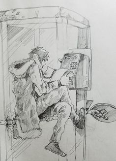 Izaya Orihara | He's probably calling Shinra yo. Actually never mind, he wouldn't need a phone book for that haha