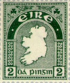 Stamp from Ireland, 1922