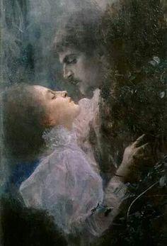 Liebe' by Gustav Klimt. …                                                                                                                                                                                 Mais