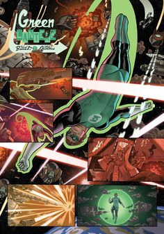 Green Lantern by Joe Quinones