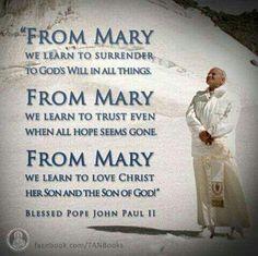 Saint John Paul II quotes. Catholic saints