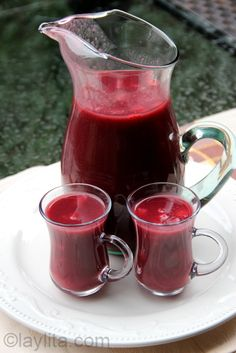 Colada morada for the Day of the Deceased - easy version of the traditional recipe
