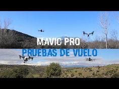 SUSCRIBETE: http://goo.gl/S6S0Mf Realizamos todo tipo de test y pruebas de vuelo con el nuevo DJI Mavic Pro en condiciones de viento, explicamos los modos de...