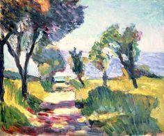 Olive Trees, Henri Matisse