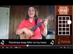 Raindrops Keep Falling on My Head Easy Ukulele Songs by 21 Songs in 6 Days: Learn Ukulele the Easy Way