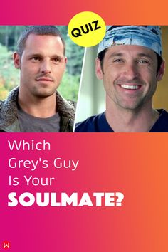 Take this Grey's Anatomy personality quiz that will tell you which doctor is truly meant to be your soulmate. Find out once and for all which Grey's doctor is your soulmate. #soulmateQuiz #soulmate #boyfriendQuiz #greyscrush #greysboyfriend #greyssoulmate #greysanatomy #derekshepherd #alexkarev #greyslove #shonda