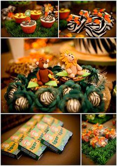 A primeira festa de aniversário carioca no site! Começamos bem, com uma decoração linda no tema safari para a festinha do Igor: Fotos: Paulo Herédia | Deco                                                                                                                                                                                 Mais