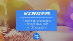 Two must have accessories for travel photography https://www.youtube.com/watch?v=IYDSn7Mg8WU&feature=share