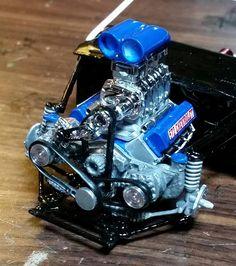 Detailing Model Car Engine Car Truck Scale Models Pinterest