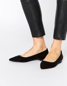 Pointed Ballet Flats, $21