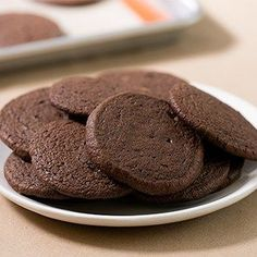 These gluten free brownie cookies have all the richness of brownies in a soft, chewy cookie. Without chocolate chips, because they don't need them! Gluten Free Sweets, Gluten Free Cookies, Gluten Free Baking, Gluten Free Chocolate Cookies, Chocolate Brownie Cookies, Chocolate Flavors, Chocolate Chips, Gluten Free Biscuits, Gluten Free Brownies