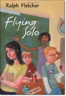 Flying Solo is is a story about students taking over a classroom for a day when their teacher is absent. It's on my new pages with recommended Realistic Fiction reading for Literature Circles. Using this new resource will save you lots of time tracking down great books for literature circles. Have a look!