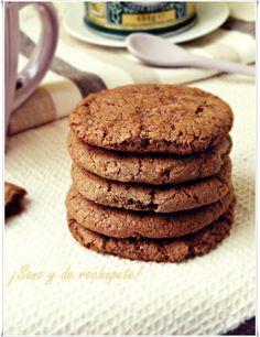 galletas de chocolate sin gluten (gluten-free chocolate cookies)