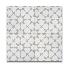 Pack of 12 Medina Grey and White Handmade Cement and Granite 8x8 Floor and Wall Tiles (Morocco) | Overstock.com Shopping - The Best Deals on Accent Pieces