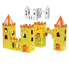 >> draw-810599 Children DIY funny castle colored painting toy