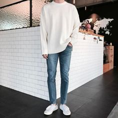 Fotos BabyGirl e BabyBoy Diversos amreading books wattpad Korean Outfits, Trendy Outfits, Fashion Outfits, Vans Outfit Men, How To Wear Vans, Korean Fashion Men, Mens Fashion, Look Man, Men Style Tips