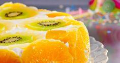 Tort bavarez cu fructe Bavaria, Pineapple, Bakery, Desserts, Food, Pie, Tailgate Desserts, Pinecone, Deserts