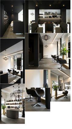 Ilse Terneven - Gamma Benelux Nail Salon Design, Nail Salon Decor, Beauty Salon Decor, Beauty Salon Design, Hair And Beauty Salon, Barber Shop Interior, Hair Salon Interior, Barber Shop Decor, Home Salon