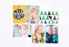 DIY Printable Photo Cards - Free Template