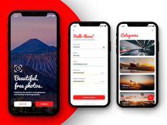 Photographer App - Sign Up