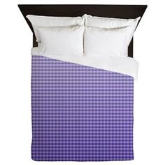 Personalize your bedroom and protect your queen sized comforter with a unique queen size duvet cover! Browse tons of high quality Queen & Full Duvet Covers at CafePress. Queen Size Duvet Covers, Full Duvet Cover, Queen Duvet, Purple Ombre, Deep Purple, Bedding Collections, Gingham, Dresses For Work, Design