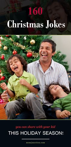 160 Christmas Jokes You Can Share With Your Kid This Holiday Season!Here is our pick of Christmas jokes that will have your kids laughing out ho ho ho Christmas Jokes For Kids, Funny Christmas Jokes, Christmas Games, Christmas Activities, Christmas Humor, Christmas Traditions, All Things Christmas, Christmas Holidays, Christmas Ideas