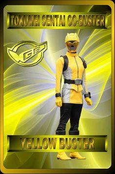 Yellow Buster by rangeranime