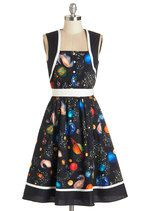 You're Out of the World Dress | It's like a ready-made Ms. Frizzle dress! @sunflow321