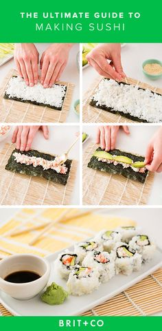 Find out how to make sushi for two for under $30.