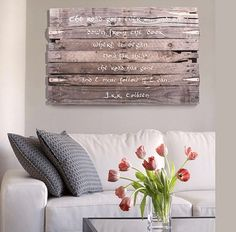 Rustic Pallet Sign | Clever DIY Wood Pallet Projects You Can Do Now