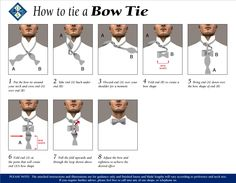 The best instructions ive seen for how to tie a cravat three how to tie a bow tie ccuart Image collections