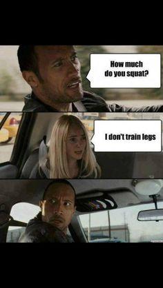 Don't skip leg day!