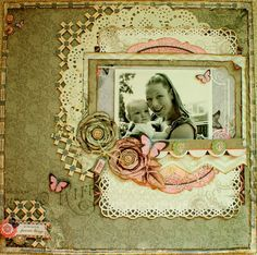 Layout: Bliss *Bo Bunny and Cards&Scrap*